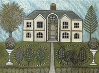 landscape with house by morris hirshfield