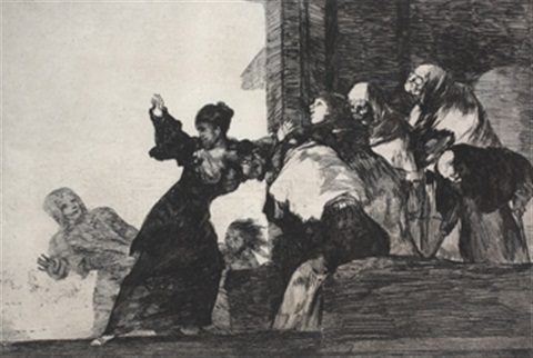 disparete pobre by francisco de goya