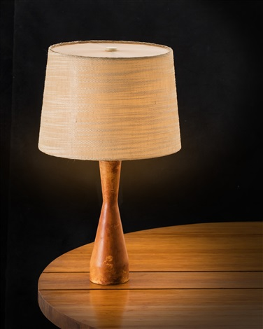 Nice Table Lamp With Leather Foot Designed By Lisa Johansson Pap E For Orno By Lisa Johansson Pape On Artnet