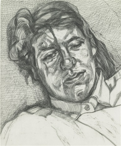 bella by lucian freud