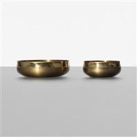 bowls, pair by tapio wirkkala
