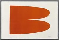 red-orange (axsom 6) by ellsworth kelly