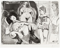 pl.134 (from series 156) by pablo picasso