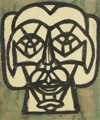 head of antiochus by richard pousette-dart
