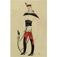 costume design for a life for the tsar (ivan susanin) by vladimir tatlin