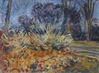 in an autumn wood by robert d. bottom