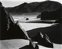 garrapata beach by brett weston