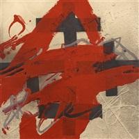 cobert de roig by antoni tàpies