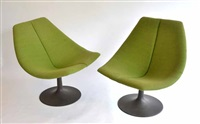 rondo chairs (pair) by gordon andrews