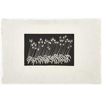 summer lilies by wharton h. esherick