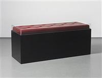 sculpture bench (banco escultura) by tony tasset