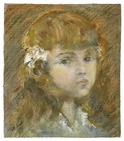 ritratto di bambina by angelo brando