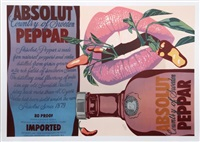 absolut peppar by clayton pond