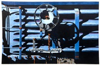 rolling stock series #22 for bill by robert cottingham