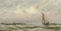 hooge zee by gerard van der laan