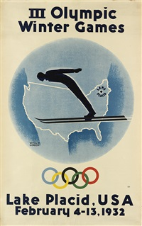 iii olympic winter games/lake placid by witold gordon