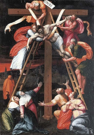 the descent from the cross by pedro núñez del valle