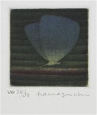 papillons (set of 7) by yozo hamaguchi