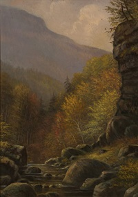 kaaterskill clove by thomas addison richards