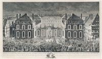 représentation des principales ... en la ville de strasbourg by jacques philippe le bas