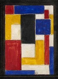 un vitrail (study) by vilmos huszar