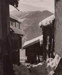ruelle à verbier-village by kinette hurni-bourgeois