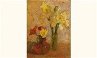 bouquet de fleurs by marcel couchaux