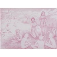 untitled (4 works) by gerald davis