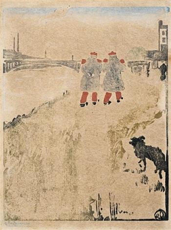 le bord de leau by jean emile laboureur