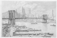 brooklyn bridge by hans figura