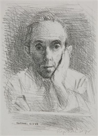 self-portrait by raphael soyer