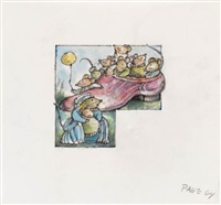 the little old mouse who lived in a shoe by arnold lobel