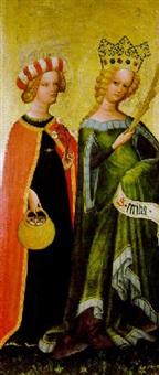 die heiligen dorothea und caecilia by austrian school-salzburg (15)
