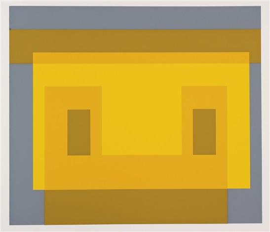 formulation : articulation (portfolio of 127) by josef albers