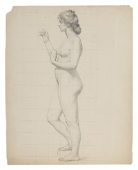 study of a nude woman by elliot daingerfield