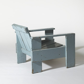Early Crate Chair By Gerrit Rietveld