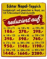 echter nepal-teppich by volker albus