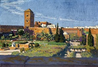 les jardins des oudaïas à rabat by mathilde arbey