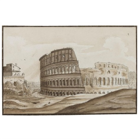 eight views of rome 8 works by carlo labruzzi