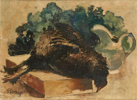 nature morte by albert saverys