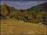 paysage by jean-paul lemieux