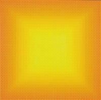 filtration (orange) by julian stanczak