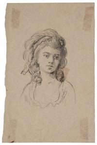 retrato de dama by raimundo de madrazo y garreta