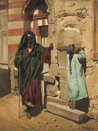 at the mosque door by p. mellini