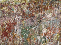 amoral cadenza by larry poons