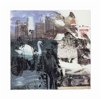 quattro mani iv (from quattro mani) by darryl pottorf and robert rauschenberg