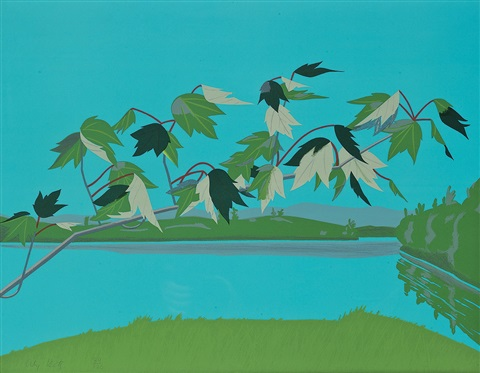 late july 1 by alex katz