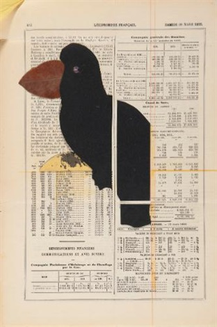 parrot by joseph cornell