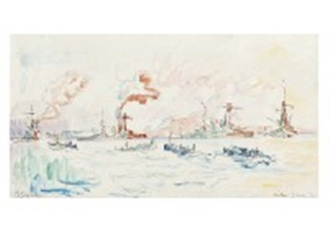 toulon by paul signac