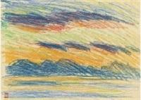 landscape by ryuzaburo umehara